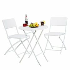 Relaxdays Meuble De Jardin Bastian Salon Pliable Table Chaises Optique Rotin