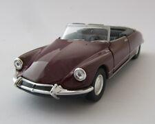Welly Citroen DS 19 Cabriolet offen  / Bordeaux / Druckgussmodel / 1:39 /OVP/Neu