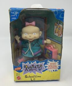 Mattel Rugrats 1999 Schooltime Lil Collectible Figure Doll Viacom Nickelodeon