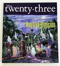 Disney Twenty-Three Magazine Fall 2009 Haunted Mansion w/Glow-in-the-Dark Cover