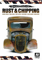 Vallejo Rust & Chipping Painting Techniques Book 100 Pages