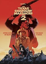 The Texas Chainsaw Massacre 2, Dvd New Free Shipping