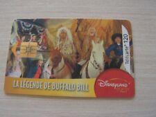 télécarte  buffalo bill    dysney   (2)