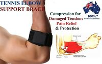 NEW SUPER Tennis Golf Elbow Support Brace Strap Band Forearm Protection Tendon