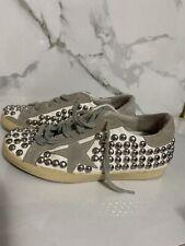 Golden Goose Studded Superstar Sneakers Size 36