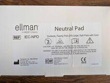 Pelleve Neutral Pad - NEW In Box 25 pads in Box IEC-NPD