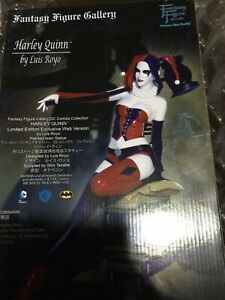 FANTASY FIGURE GALLERY HARLEY QUINN #209/500 1:6 RESIN STATUE by LUIS ROYO