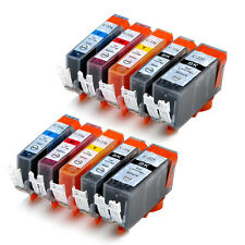 10pk Ink PGI-225 CLI-226 for Canon MX882 IP4820 MG8120 MG6120 MG5220 MG5120