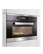 Brand New Miele M6262TC PureLine Built-in Microwave with Grill, Clean Steel