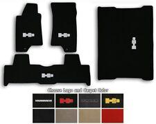 Lloyd Velourtex 4pc Carpet Floor Mats for 06-10 Hummer H3 - Choose Color & Logo