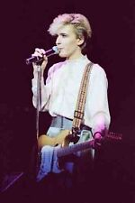 "12""*8"" colour concert photo of David Sylvian of Japan at London in 1983"