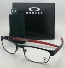 New Ferrari OAKLEY Eyeglasses CARBON PLATE OX5079-0453 Black Red w/ Carbon Fiber