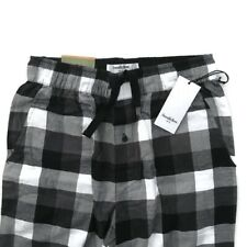 Goodfellow Mens Size Small Pajama Pants Cotton Flannel Black And White Plaid