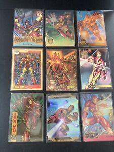 Marvel Universe Series, Marvel Masterpieces/Metal 1991,1993,1994,1995 - Ironman