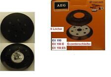 Schleifteller für AEG EX 150 E Exzenterschleifer 150 mm 6 Löcher
