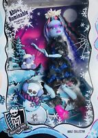 Rare Mattel Exclusive Monster High Doll ABBEY BOMINABLE Sold Out From 2017 NRFB