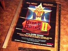 DEBBIE DOES DALLAS II  MOVIE POSTER SEXPLOITATION