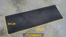 UNIVERSAL DIAMOND ABS PLASTIC BLACK MESH GRILL 120x40 CM,  GRID 3x1CM