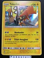 Carte Pokemon TOKORICO 85/214 HOLO Soleil et Lune 8 SL8 FR NEUF