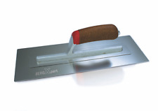 "BeroXpert BEROFLEX Plastering Trowel Stainless Steel Cork Handle 14 x 5"""