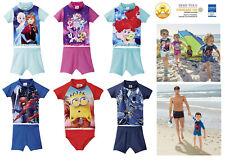Jungen Mädchen UV-Schutzshirt 50 Badeshirt Badeanzug Sonnenschutz Schwimmen Kind