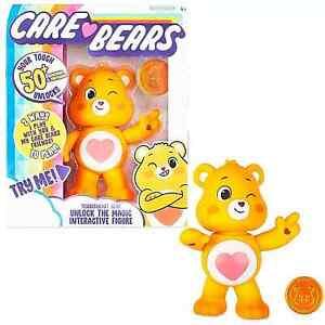 """Care Bears Tenderheart Bear 5"""" interactive Unlock the Magic Basic Fun 2020"""