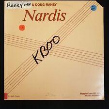 Jimmy Raney & Doug Raney - Nardis LP MINT Bebop Guitar Standards 1983 Denmark...