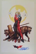 "SDCC 2018 *Harley Quinn #32 Variant"" Frank Cho SIGNED *PRINT* 11"" x 17"""