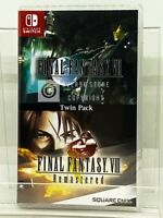 Final Fantasy 7 VII & 8 VIII Twin Pack - Nintendo Switch - Brand New | Physical