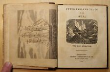 Peter Parley's Tales of the Sea by Samuel G. Goodrich – 1839  First Ed. Whaling