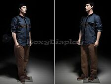 Male Fiberglass Realistic Mannequin Dress From Display #MZ-PLUSMAN