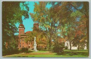 Anderson South Carolina~Erskine College Due West~Standard Chrome Postcard