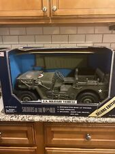 RARE Soldiers Of The World US Military Vehicle Medical Jeep 1998 NIB 1/6 scale