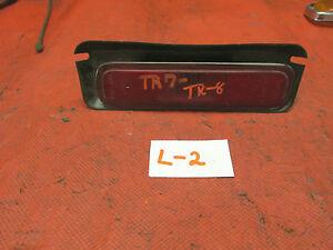 Triumph TR7,TR8, Lucas Rear Side Marker Light Assembly, Red, Original, !!