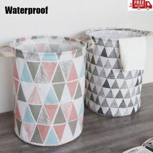 Foldable Clothes Laundry Basket Hamper Sorter Wash Clothes Storage Bag Organizer