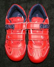 New Next UK Red Tennis Shoes Sneakers B is for BUNNY size 12 UK 30.5 EUR Girls