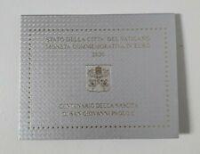 monnaie bu vatican 2 euro 2020 Jean paul II sous blister
