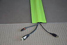 Cable Cover/Protector: 100mm(width) x 2m(length) - High Vis Yellow - (T)