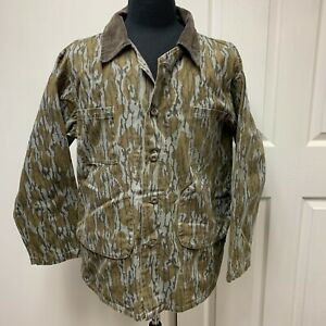 VTG Mossy Oak Original HILL COUNTRY Mens Large Jacket Coat Hunting Camo L USA