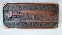 1988 Olympic Games Seoul WALL PLAQUE Cames of the XXIVTH OLYMPIAD SEOUL 1988