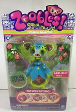 Zoobles Petagonia Collection Carlisle # 107 Special Edition Fuzzy Figure