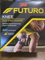 Futuro KNEE Dual Strap Support Adjustable Moderate Support for Tendonitis 09195