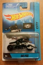 Rare Variant Hot Wheels city Batman Bat Pod With removeable batman rider