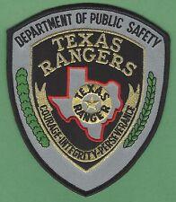 "fire D.P.S 4.75/"" x 6/"" Texas Rangers  175th Anniv. shoulder police patch"