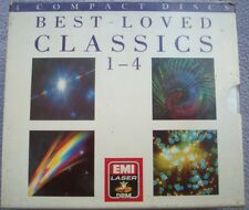 BEST LOVED CLASSICS 1 - 4 EMI Laser DRM 1980s NEW SEALED 4 x CD Classical Music