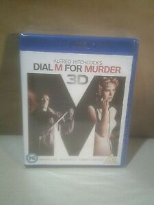 Dial M For Murder - 3D Ed- Grace Kelly - Hitchcock - UK Blu-ray - New/Sealed