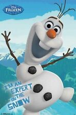 DISNEY FROZEN MOVIE EXPERT ON THE SNOW OLAF POSTER PRINT 22X34 NEW FREE SHIPPING