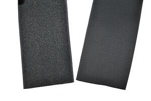 Klettband grau 100 mm breit 1 Meter Klettverschluss Hakenband und  Flauschband