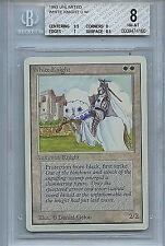MTG Unlimited White Knight Card NM BGS 8.0 NM-MT Magic card 4160