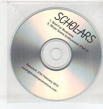 (ET312) Scholars, Bad For Business - 2012 DJ CD